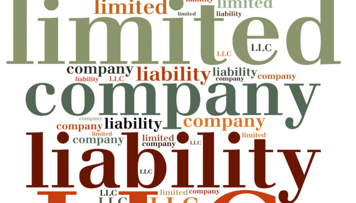 LLC. Limited liability company. Business abbreviation.